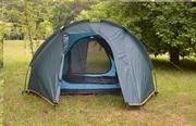 Палатка туристическая 3-х местная. Два входа